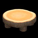 Recipe: log round table