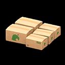 Recipe: large cardboard boxes