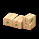 Recipe: medium cardboard boxes