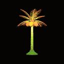palm-tree lamp