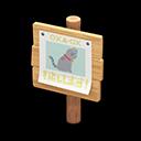 Recipe: plain wooden shop sign