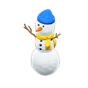 Recipe: three-tiered snowperson