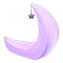 crescent-moon chair