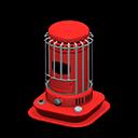 round space heater