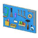 wall-mounted tool board