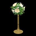 wedding flower stand