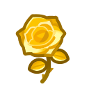 gold roses(10)