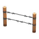 barbed-wire fence(50)