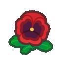 red pansies(10)