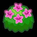 pink-azalea bush
