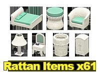 Rattan Housewares x61