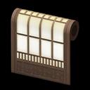 modern shoji-screen wall