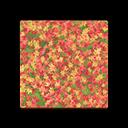 colored-leaves flooring