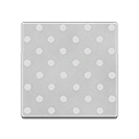 monochromatic dot flooring