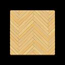 light herringbone flooring