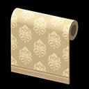 beige art-deco wall