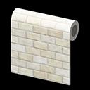 white-brick wall