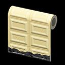 white-chocolate wall