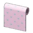 pink heart-pattern wall