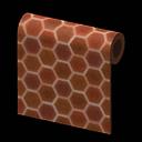 honeycomb-tile wall