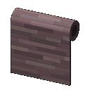 dark wooden-mosaic wall
