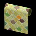 olive desert-tile wall