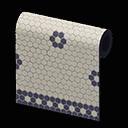 mosaic-tile wall