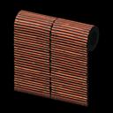 bamboo-screen wall