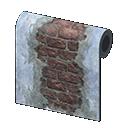ramshackle wall