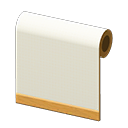 white simple-cloth wall