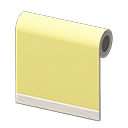 yellow simple-cloth wall