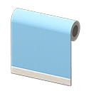 blue simple-cloth wall