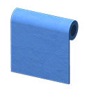blue-paint wall
