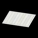 white wooden-deck rug