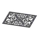 iron entrance mat