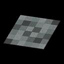 black blocks rug