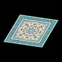 blue Persian rug