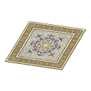 yellow Persian rug