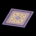 purple Persian rug
