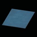 simple medium blue mat