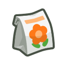 orange-windflower bag(10)