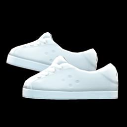 pleather sneakers