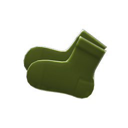 semi-opaque socks