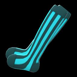 striped tights