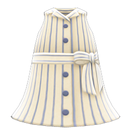 sleeveless shirtdress