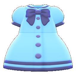 sailor-collar dress