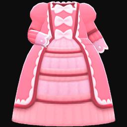fashionable royal dress