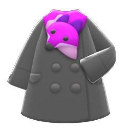plushie-muffler coat