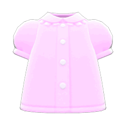 puffy-sleeve blouse