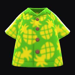 pineapple aloha shirt